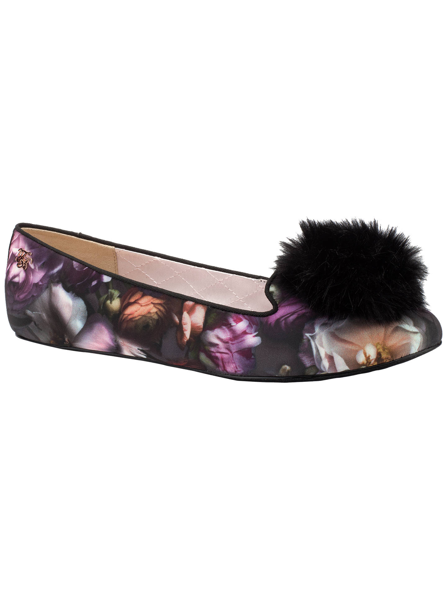 b34b1f871ed2a Previous Image Next Image. Buy Ted Baker Iveyed Pom Pom Slippers