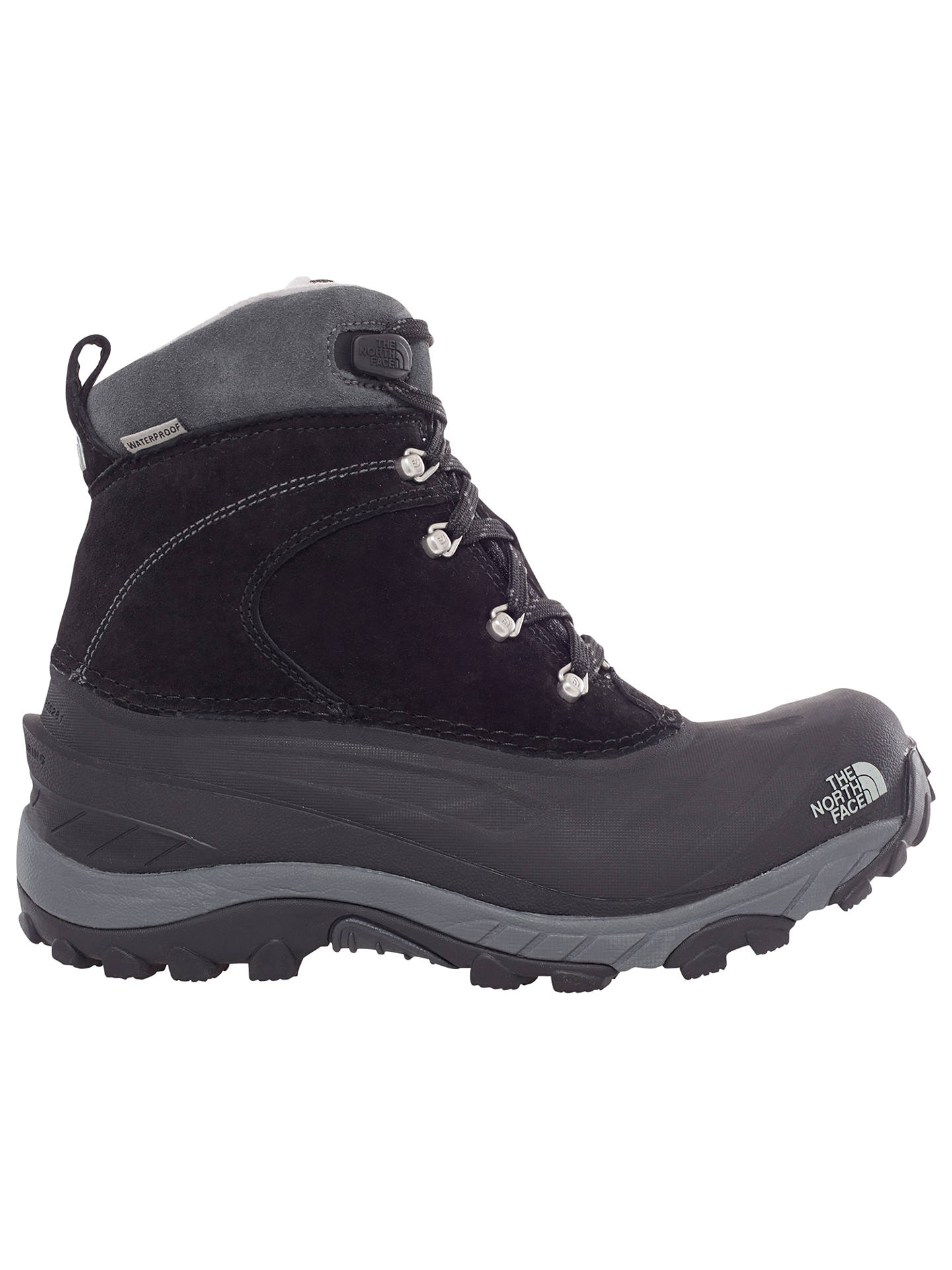 ab4016977 The North Face Chilkat II Waterproof Men's Snow Boot, Black/Griffen ...