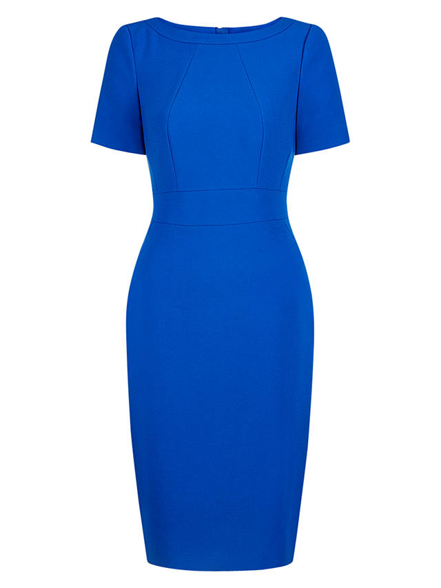 Buy Hobbs Bethan Dress, Cobalt Blue, 6 Online at johnlewis.com