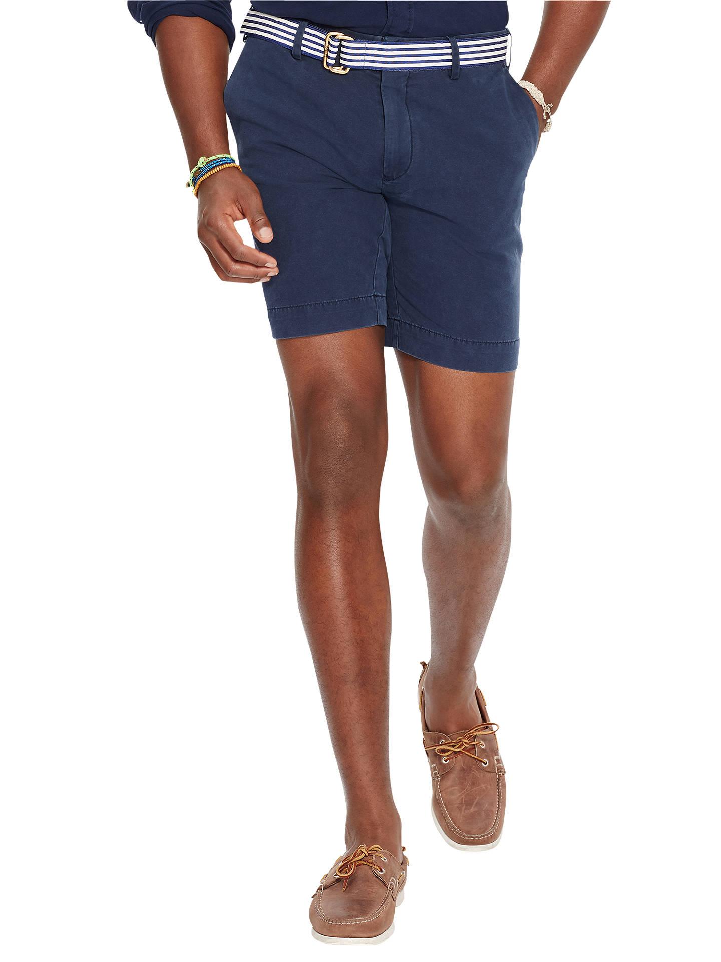 8b9e8fbf29 Polo Ralph Lauren Straight Fit Newport Shorts at John Lewis & Partners
