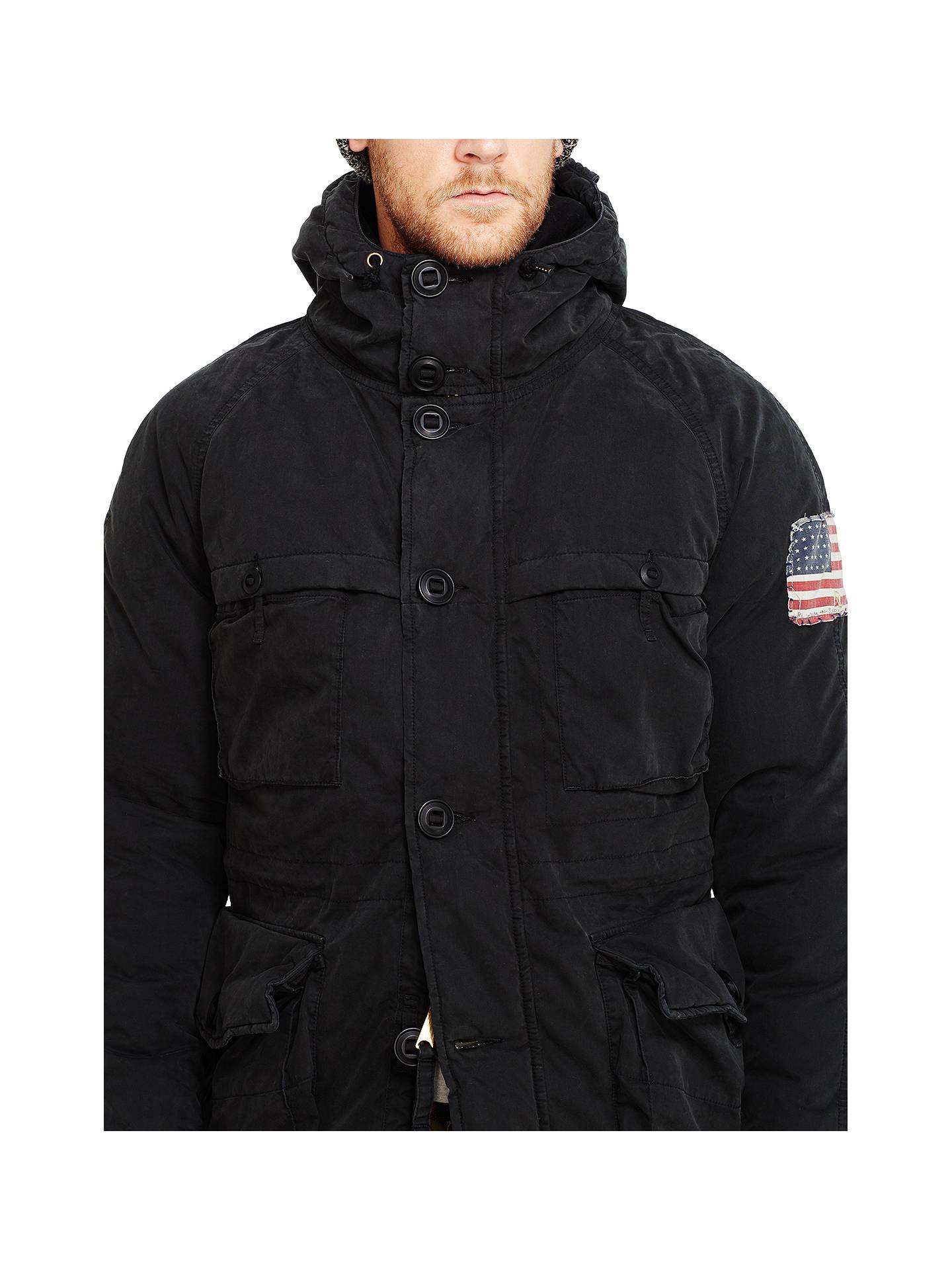 f82186e2 Denim & Supply Ralph Lauren Parka-Down Fill Jacket at John Lewis ...