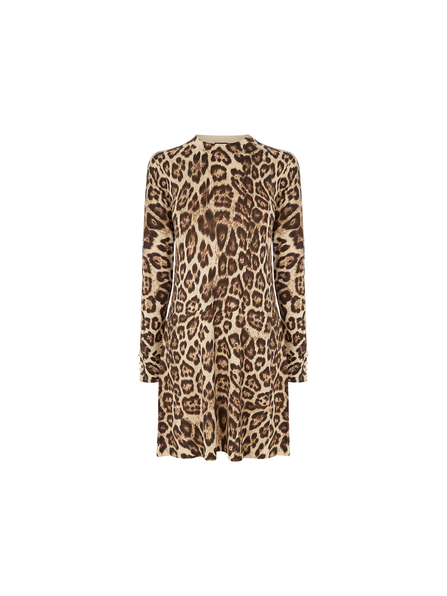 BuyWarehouse Animal Print Swing Dress 94ba9cef0