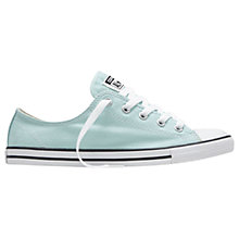 Buy Converse Dainty Seasonal Ox Trainers, Pool Green Online at johnlewis.com