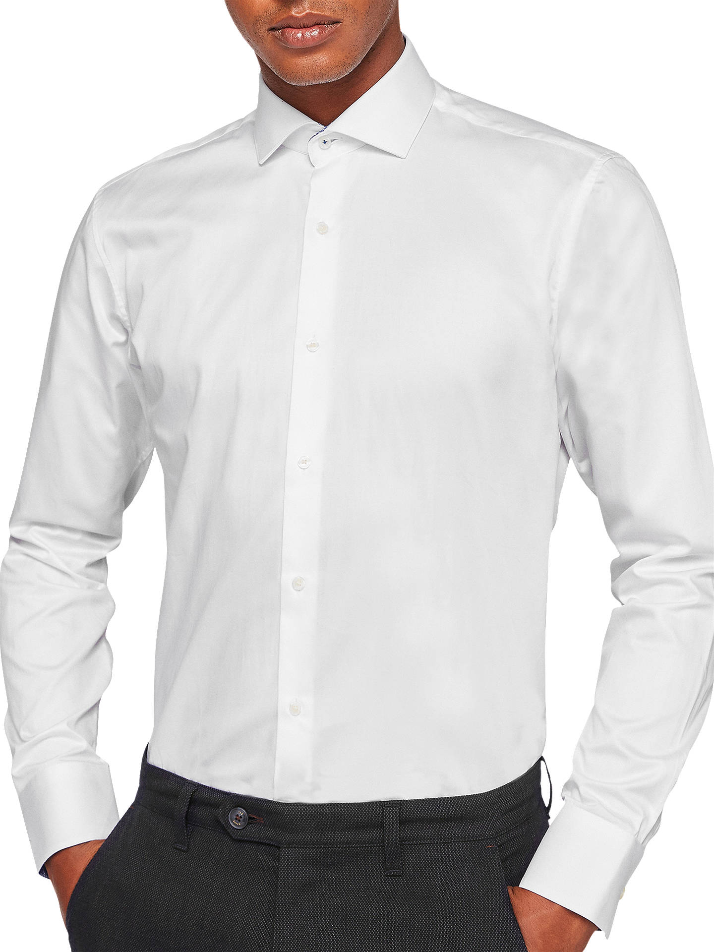 8608aa0fd92f Ted Baker Rosest Tailored Fit Shirt at John Lewis   Partners