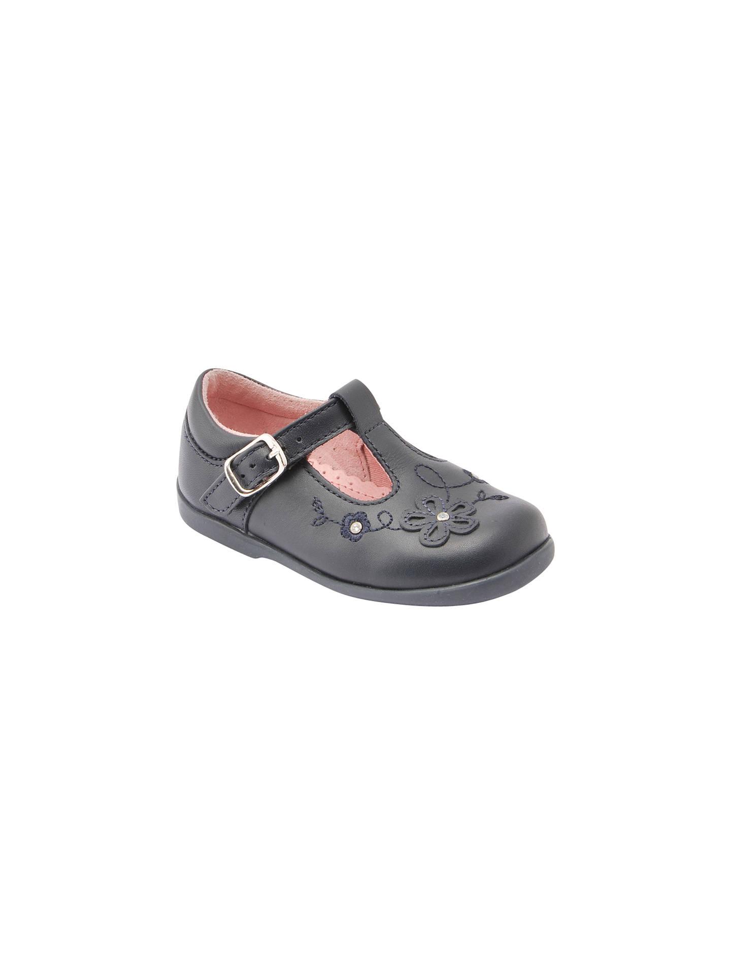 e1d7694493eb3 Buy Start-rite Children's Sunflower First T-Bar Shoes, Navy, 4E Jnr ...