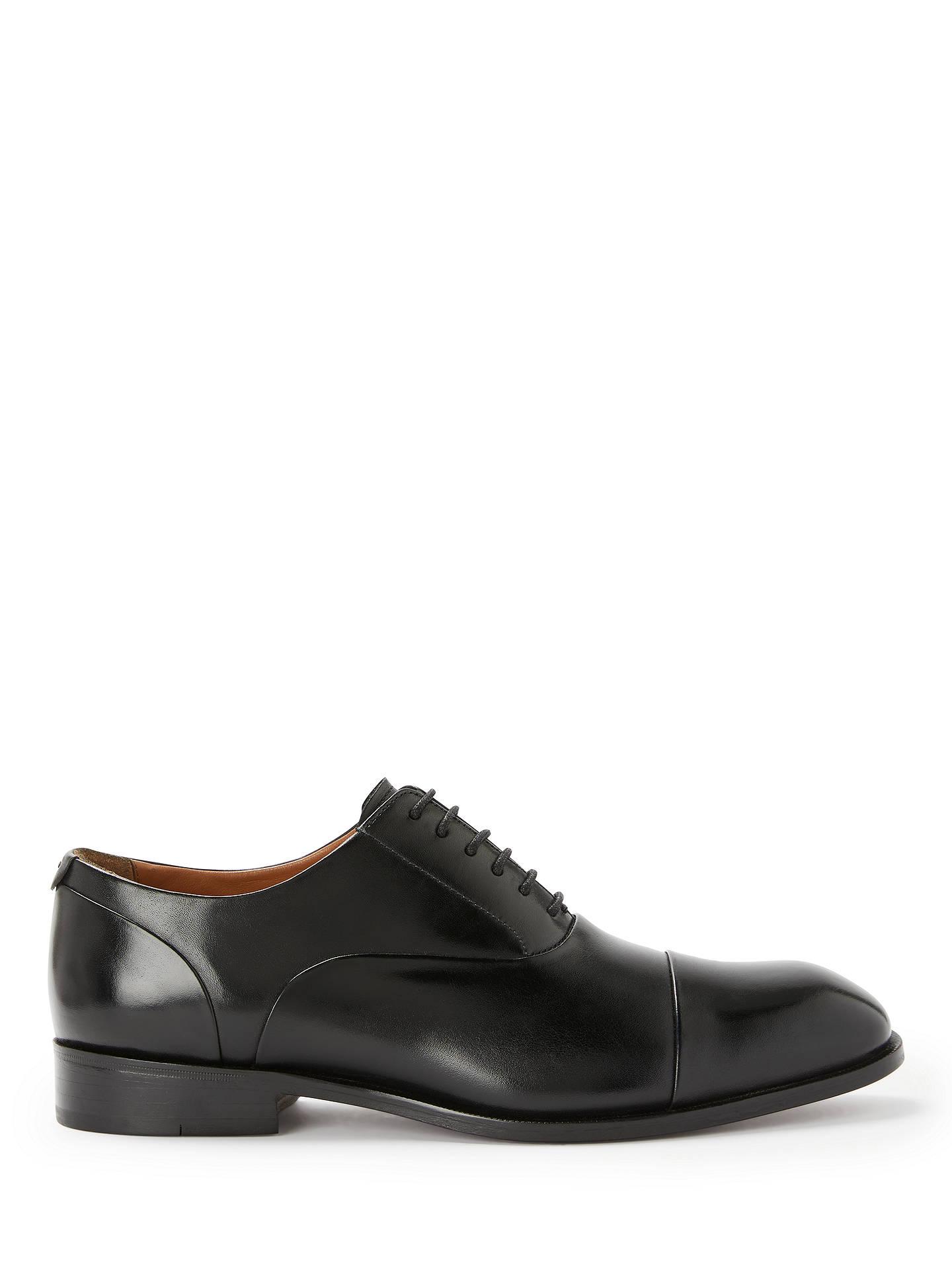 85e8815d76 Buy John Lewis & Partners Goodwin Oxford Leather Lace-Up Shoes, Black, 7 ...