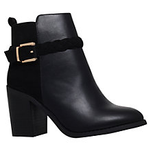 Buy Miss KG Swift Side Buckle Ankle Boots, Black Online at johnlewis.com
