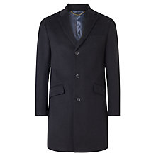 Buy John Lewis Wool Blend Epsom Overcoat Online at johnlewis.com