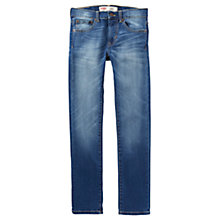 Buy Levi's Boys' 510 Skinny Fit Jeans, Blue Online at johnlewis.com
