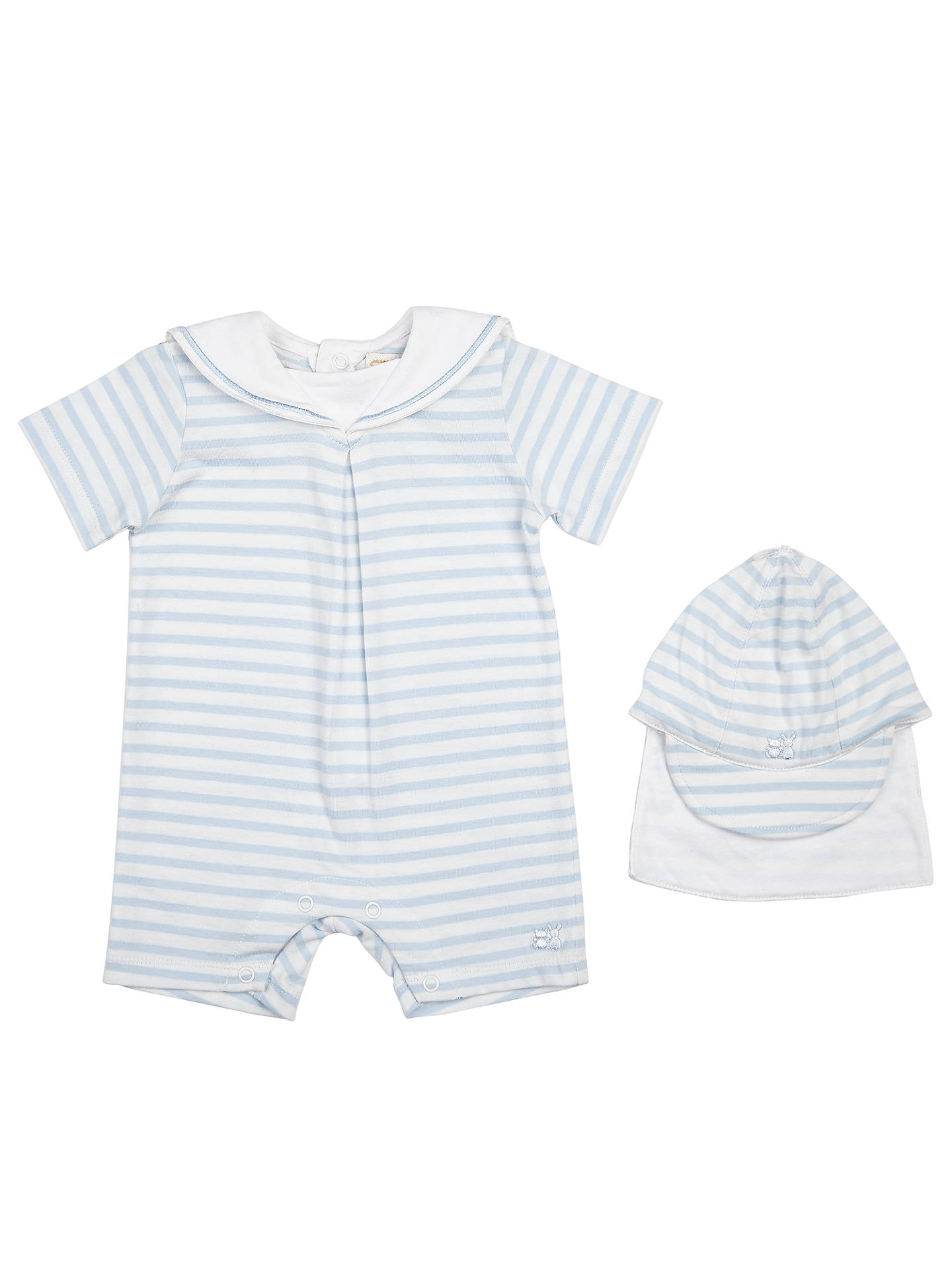 BuyEmile et Rose Baby Heston Stripe Playsuit and Hat d5b740ff0458