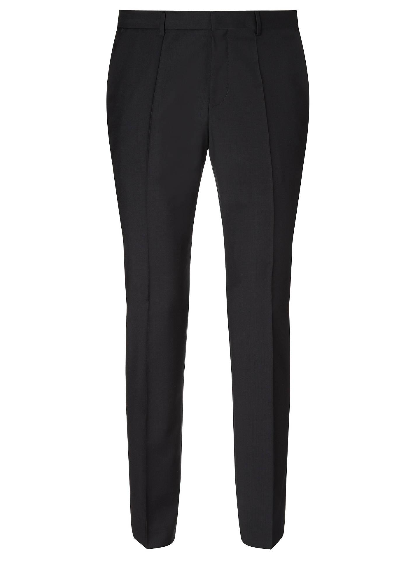 499cd5ea HUGO by Hugo Boss Huge/Genius Virgin Wool Slim Fit Suit Trousers, Black.  View product description