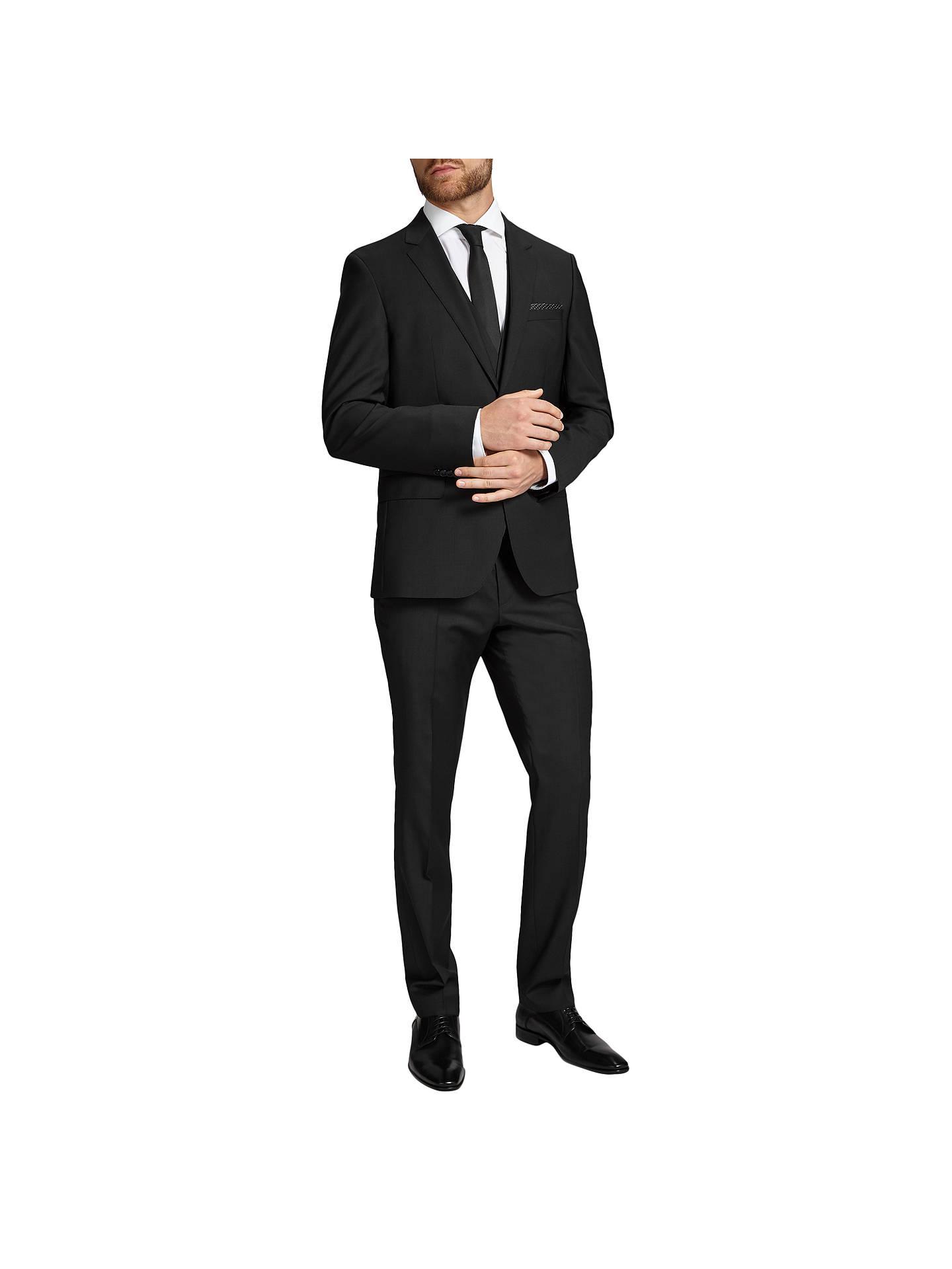 9ea066c1 ... Buy HUGO by Hugo Boss Huge/Genius Virgin Wool Slim Fit Suit Jacket,  Black ...
