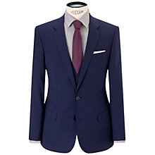 Buy HUGO Huge1 Slim Fit Jacket, Mid Blue Online at johnlewis.com