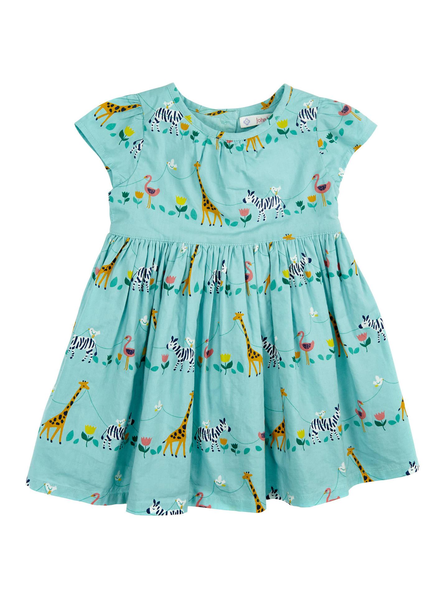 97cdf4adbaf4 John Lewis Baby Safari Animals Print Dress