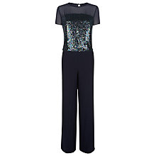 Buy Fenn Wright Manson Venus Sequin Jumpsuit, Navy Online at johnlewis.com