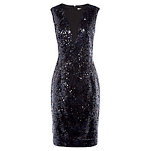 Buy Damsel in a dress Damir Sequin Dress, Black/Blue Online at johnlewis.com