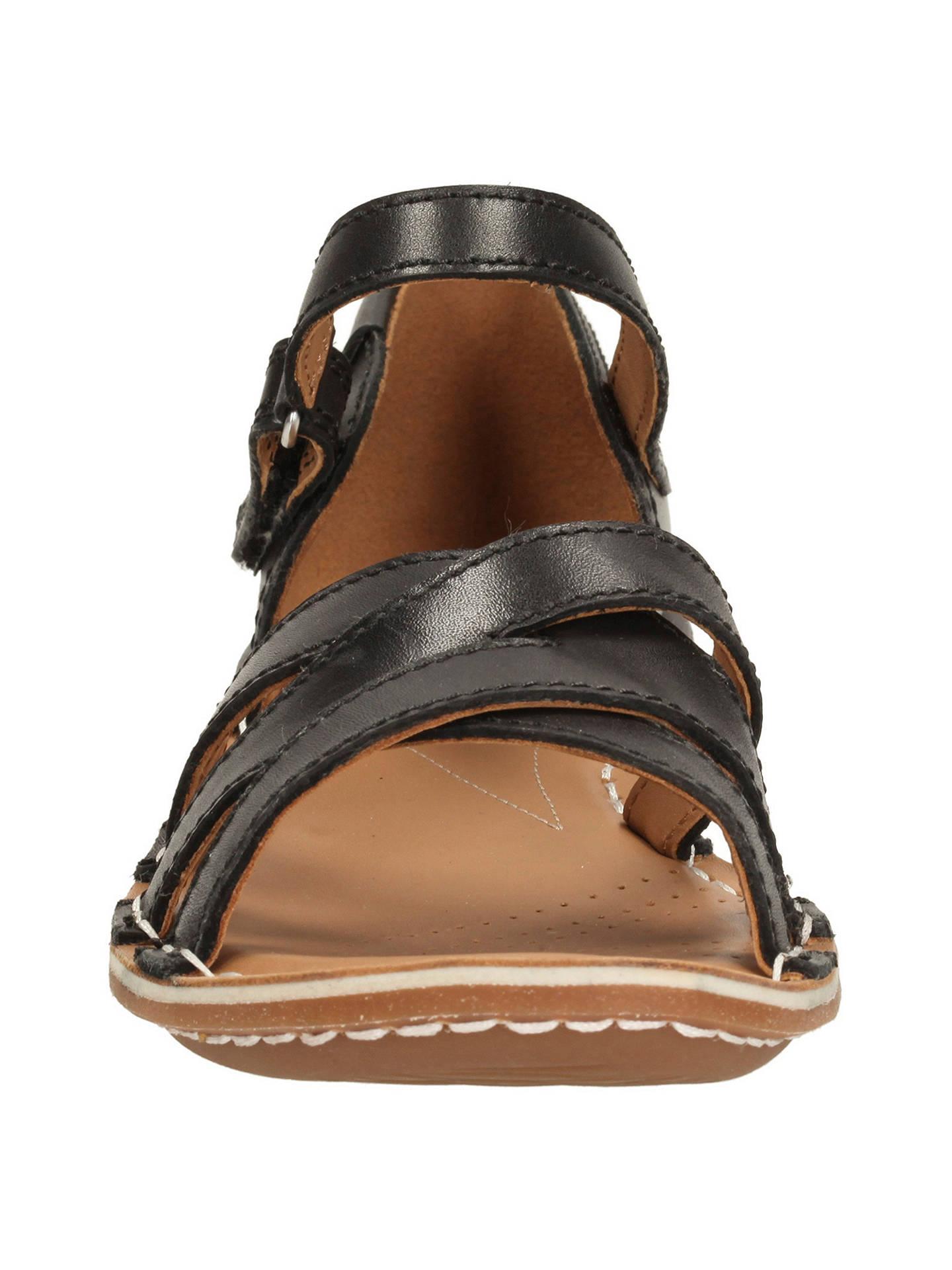 b7bc1ed09e446 Clarks Tustin Sahara Leather Sandals at John Lewis   Partners