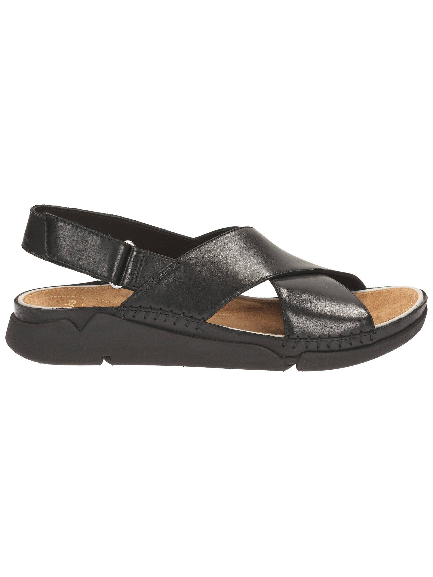 13a104b143cd Clarks Tri Alexia Leather Sandals at John Lewis   Partners
