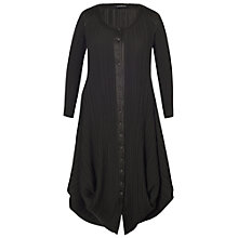 Buy Chesca Crush Pleat Drape Coat Online at johnlewis.com