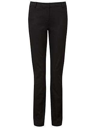 Pure Collection Cotton Stretch Straight Leg Jeans