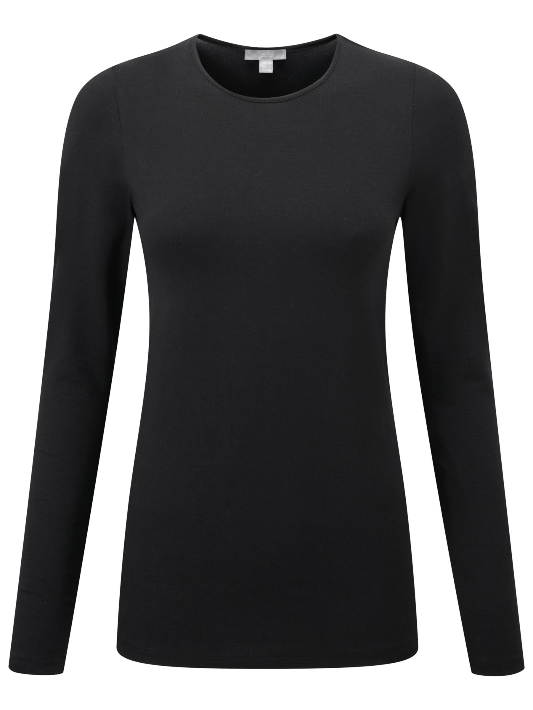 Pure Collection Pure Collection Soft Jersey Crew Neck Top