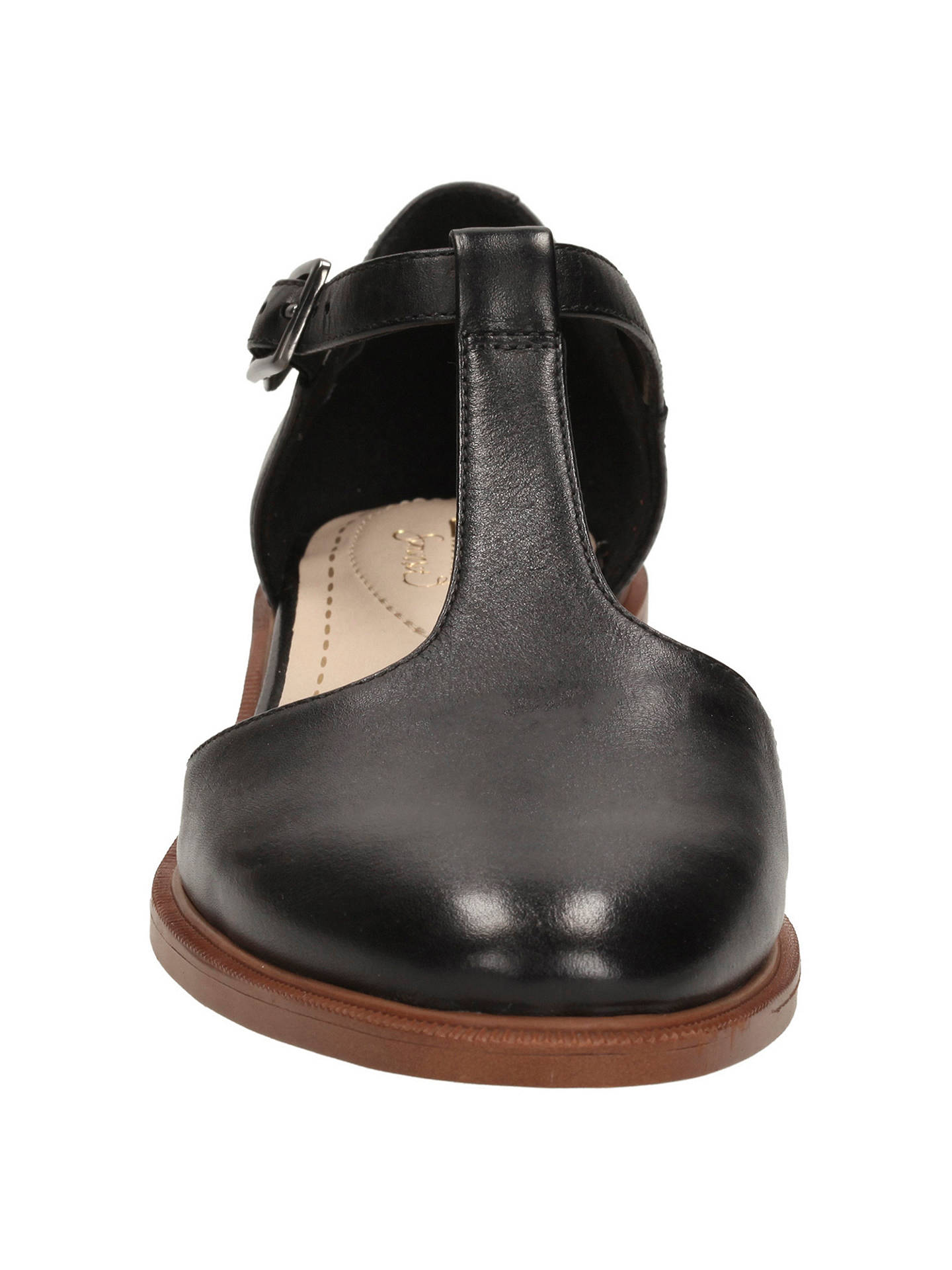 57f4622f42dd ... Buy Clarks Taylor Palm Leather Court Shoes