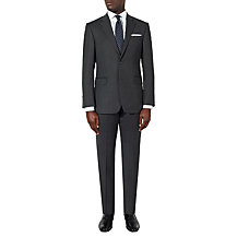 Shop the Look - Grey Birdseye Suit