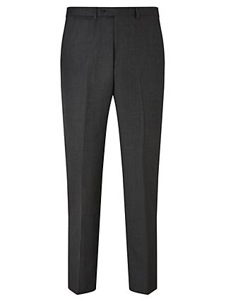 John Lewis & Partners Birdseye Wool Regular Fit Suit Trousers