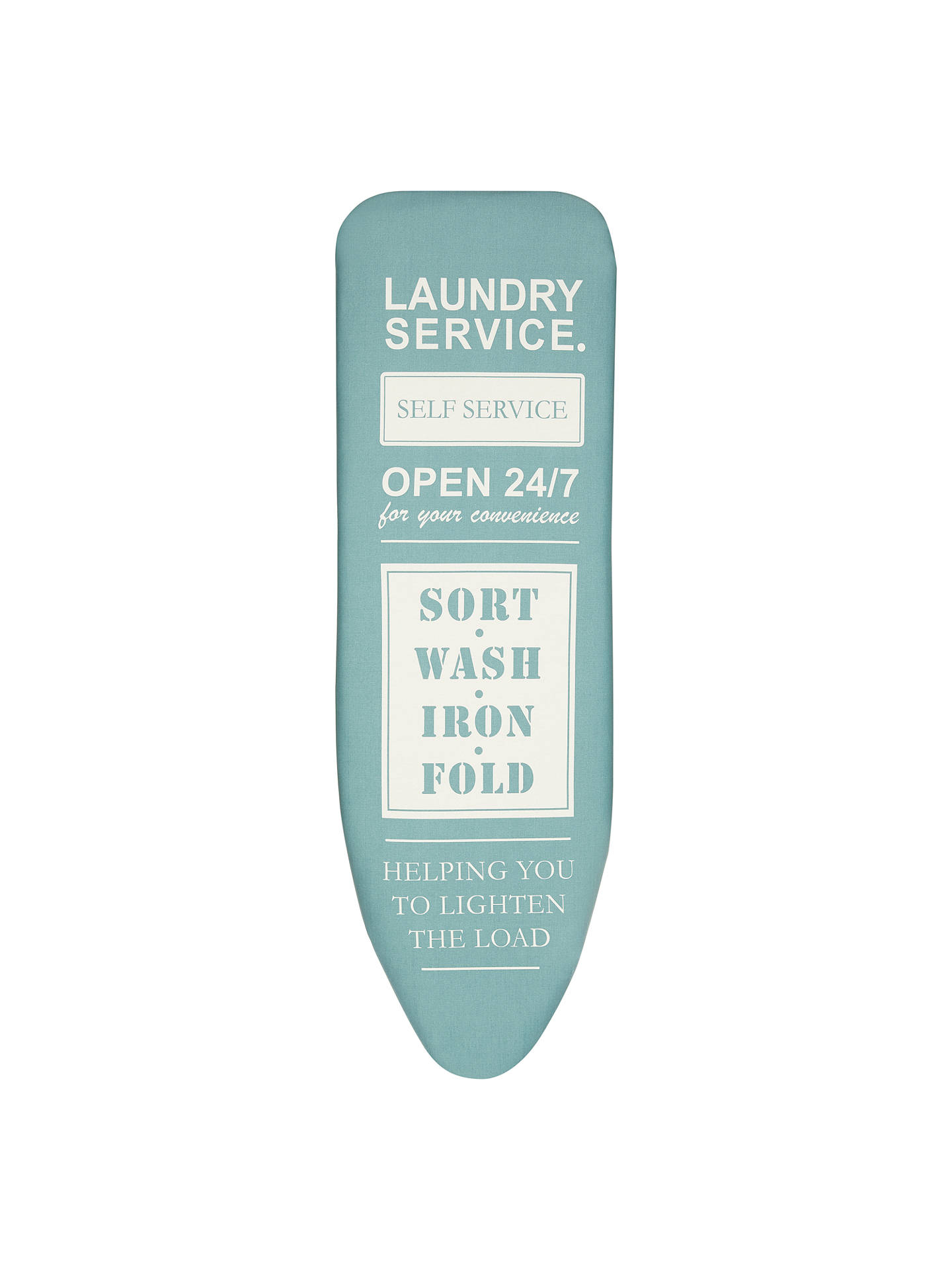 5766664bdb00 Buy John Lewis Laundry Service Ironing Board Cover, L124 x W38cm Online at  johnlewis.