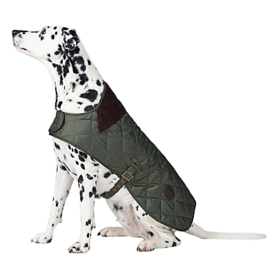 Image of Barbour Quilted Dog Coat