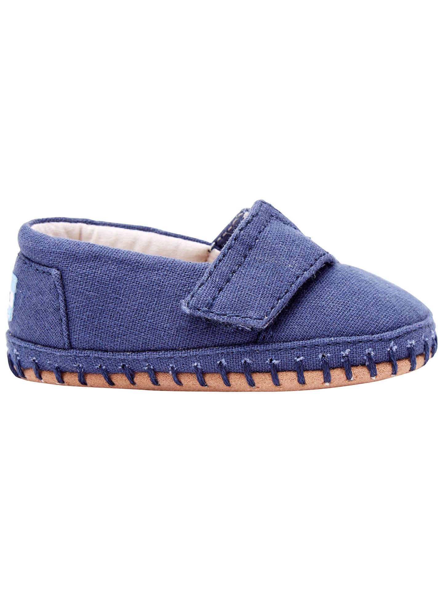 c05e9283663 Buy TOMS Children s Canvas Crib Alpargata Shoes