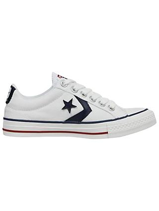 Converse Star Player Canvas Trainers, White