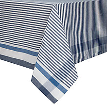 Buy John Lewis Coastal Padstow Stripe Tablecloth Online at johnlewis.com