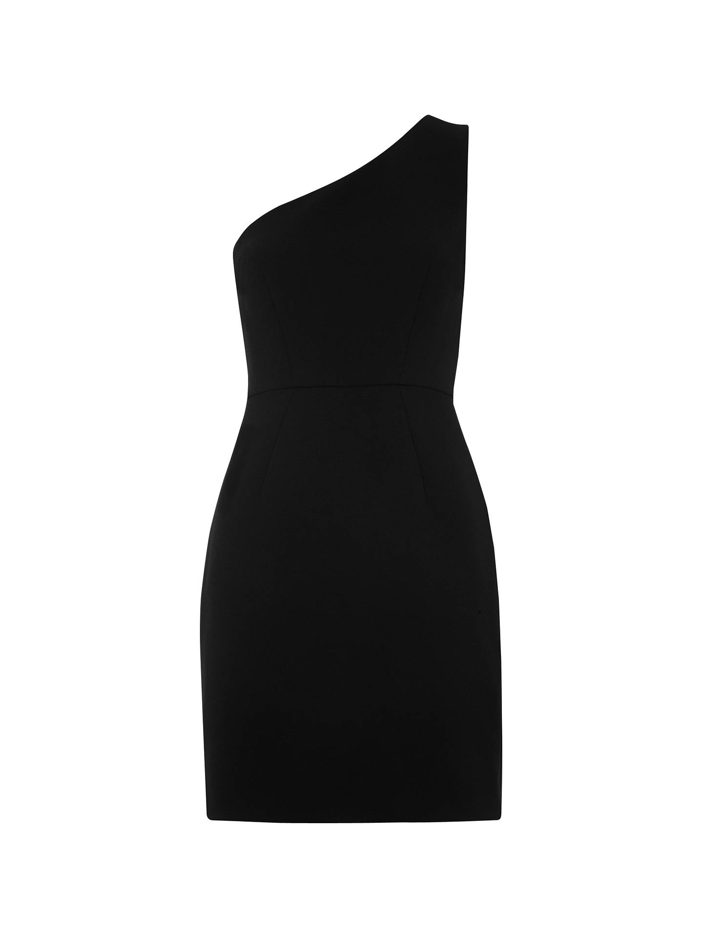 861b18d77a9 Buy Whistles Estelle One Shoulder Dress, Black, 6 Online at johnlewis.com  ...