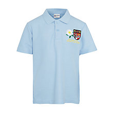 Buy Redland High School Boys' Polo Shirt, Blue Online at johnlewis.com