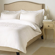 Buy John Lewis Danielle Embroidered Cotton Bedding, White Online at johnlewis.com