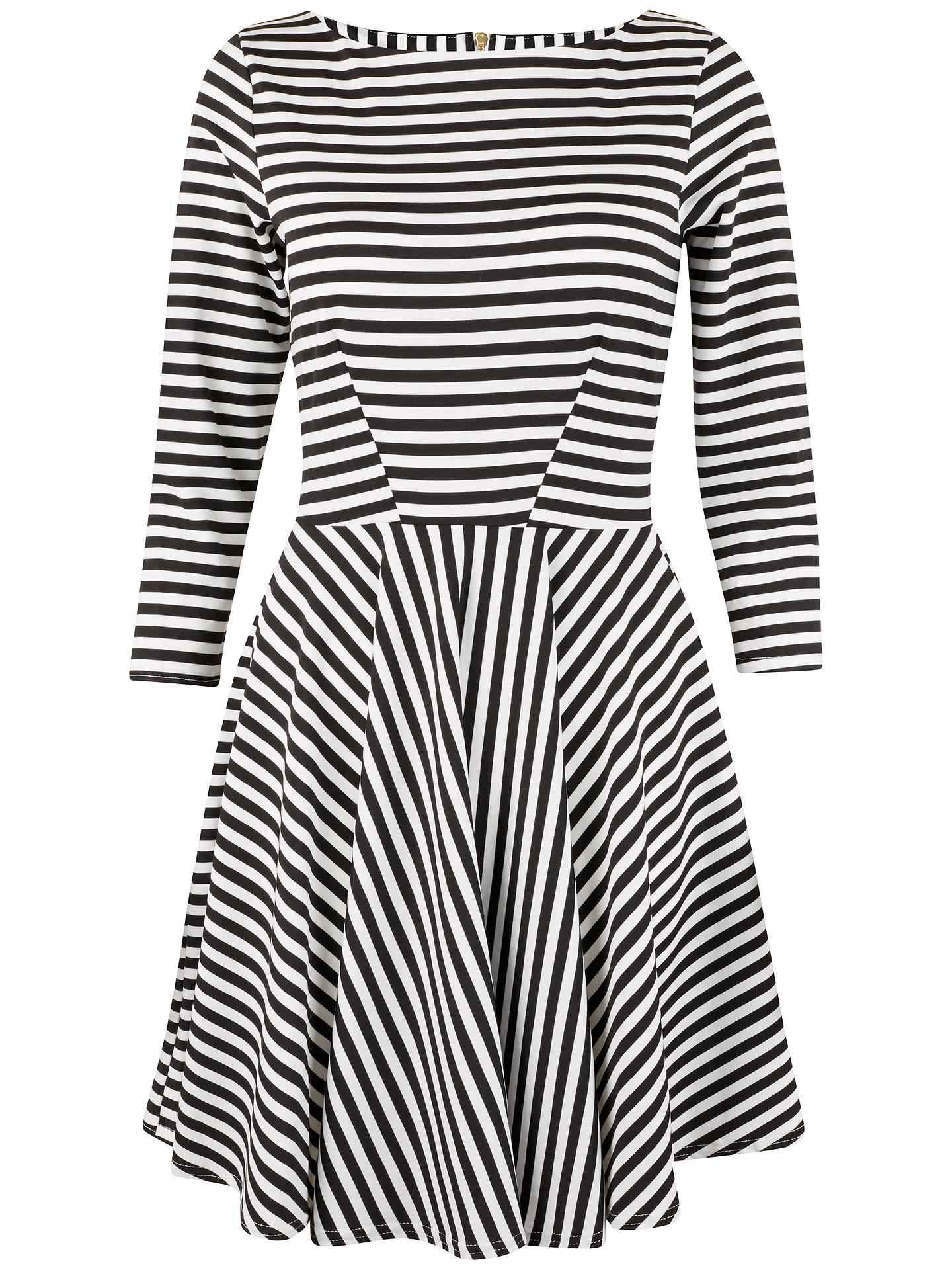 314a948784a4 Buy Closet Stripe Skater Dress