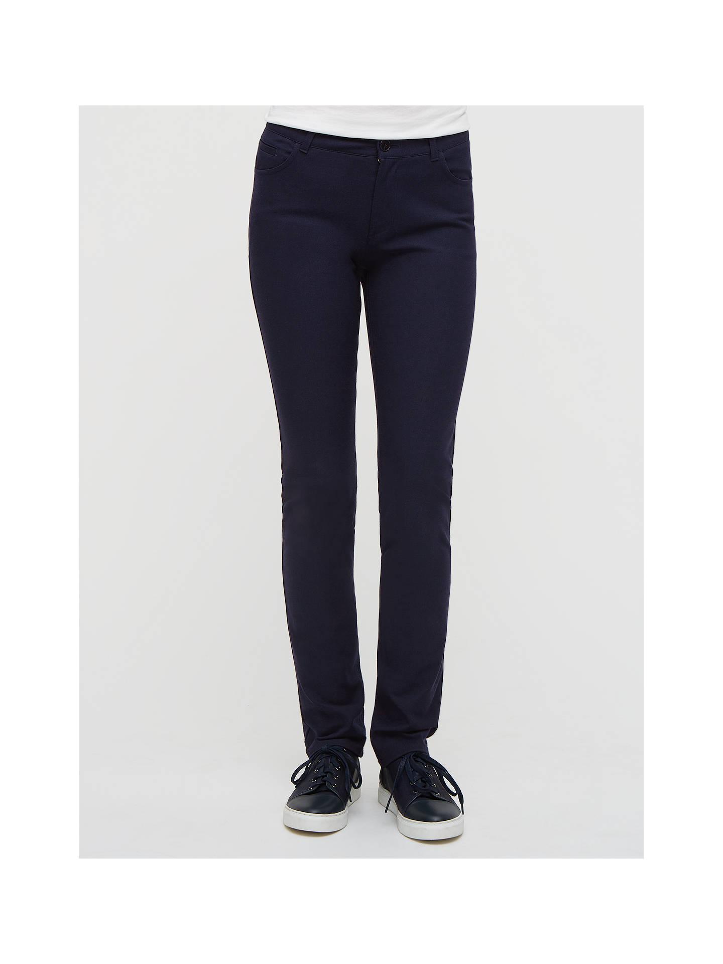 Jigsaw Classic Fit Bi-Stretch Jeans Womens New Blue Dark Blue