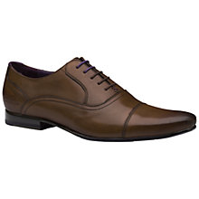 Buy Ted Baker Rogerr2 Oxford Toe Cap Shoes, Brown Online at johnlewis.com