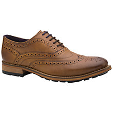 Buy Ted Baker Guri 8 Lace-Up Oxford Brogues, Tan Online at johnlewis.com