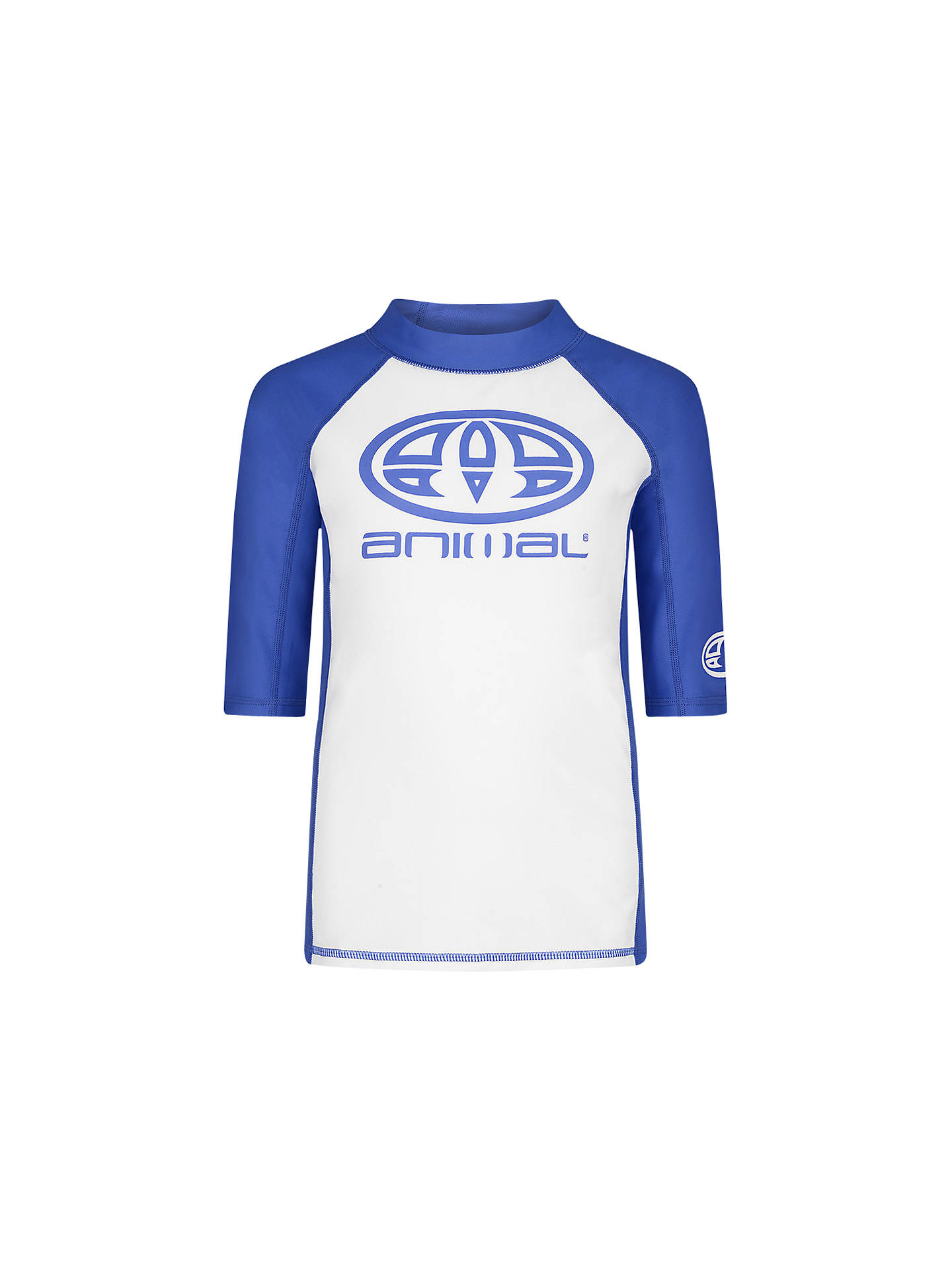 01c632a599 Buy Animal Boys' Hiltern Rash Vest, Blue, 3-4 years Online at