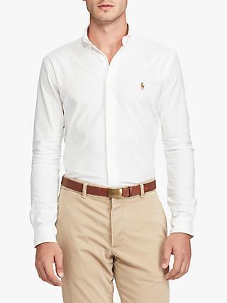 a01fec436ce0 Polo Ralph Lauren Cotton Oxford Slim Fit Shirt