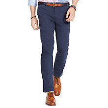 Buy Polo Ralph Lauren Slim Fit Hudson Trousers, Aviator Navy Online at johnlewis.com