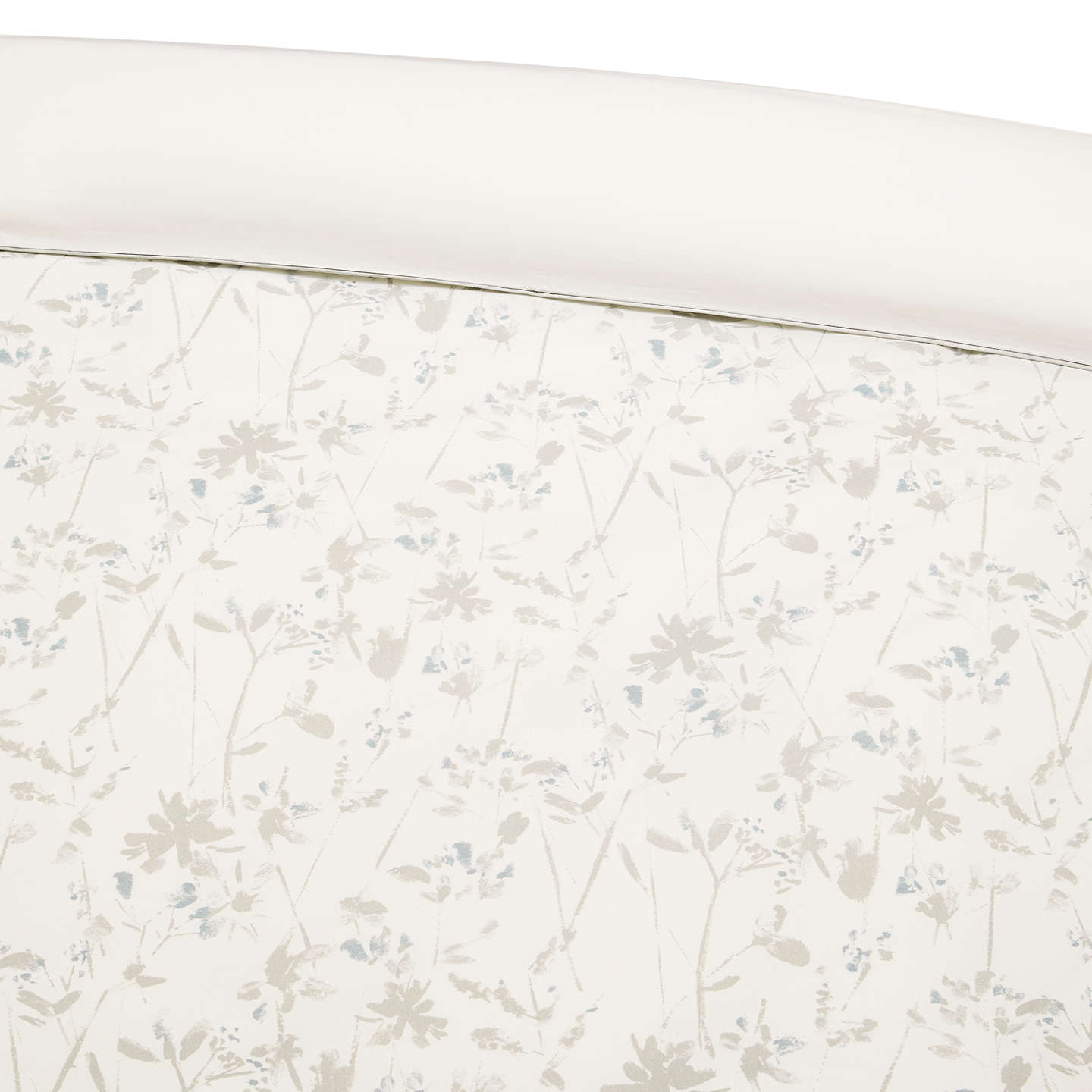 BuyJohn Lewis Freya Cotton Duvet Cover, Single, Slate Online at johnlewis.com