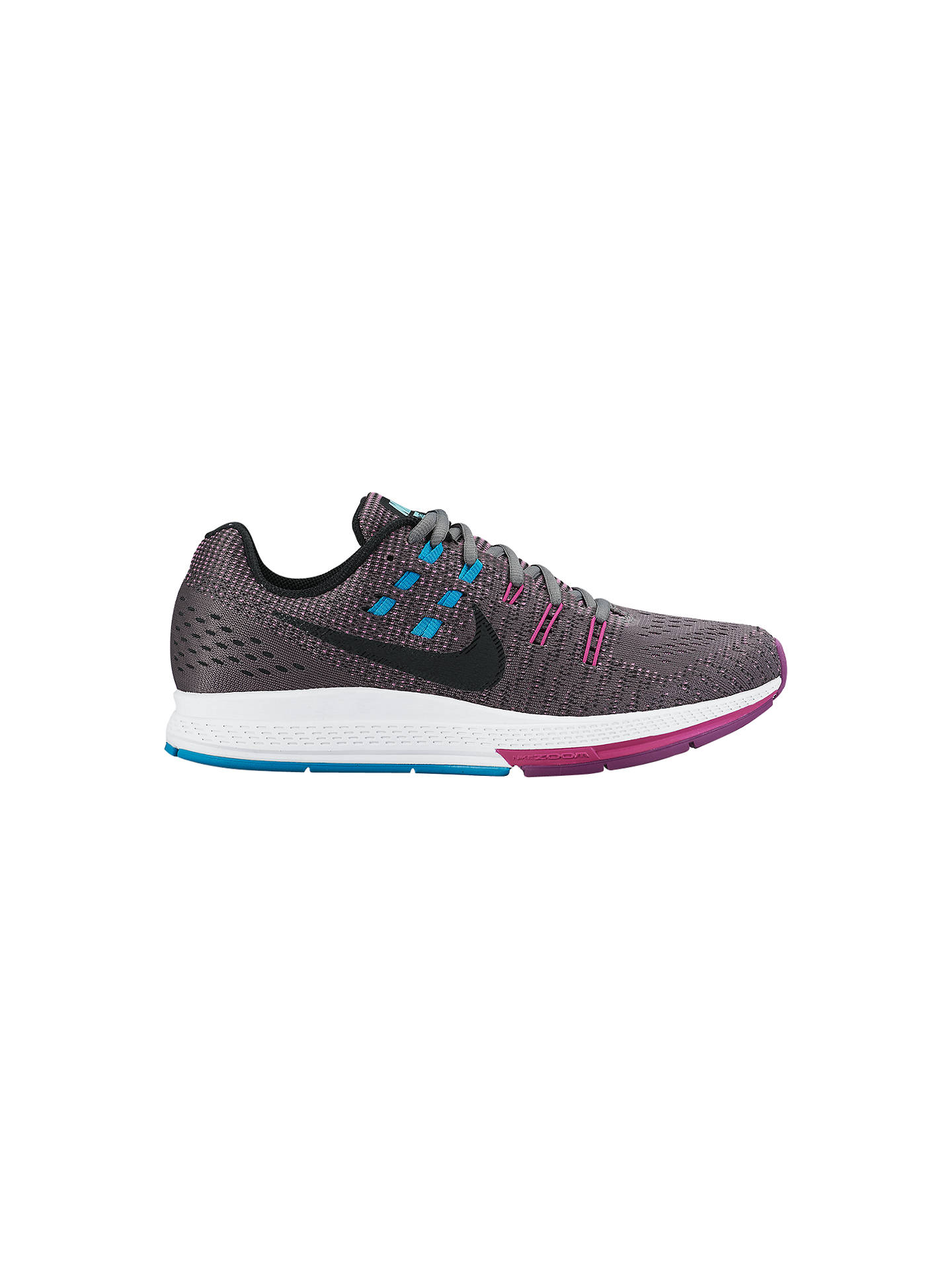 69553300882 Nike Air Zoom Structure 19 Women s Running Shoes at John Lewis ...