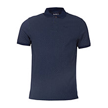 Buy Barbour Cross Print Polo Top Online at johnlewis.com