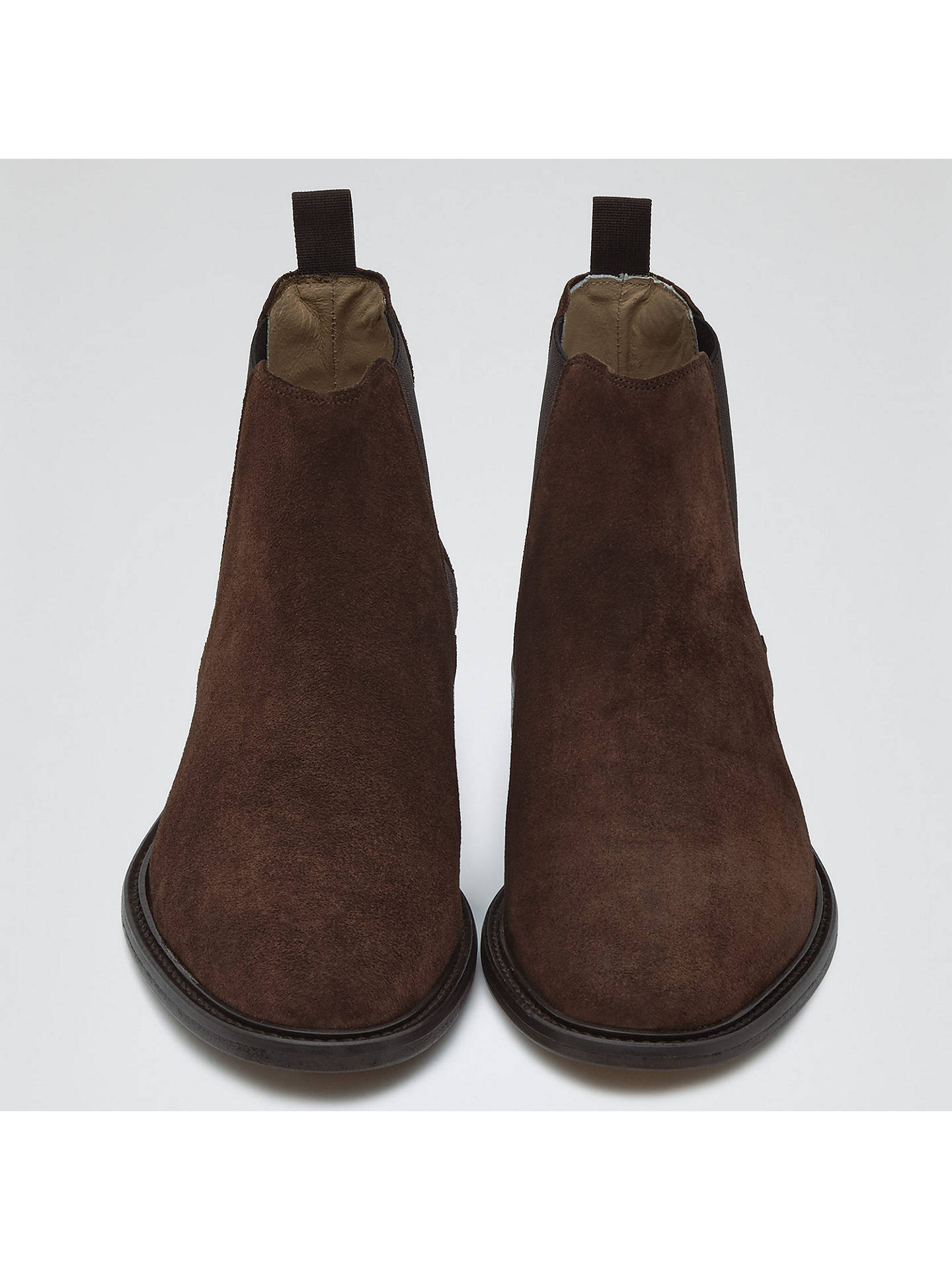 Tenor Brown Suede Leather Chelsea Boot