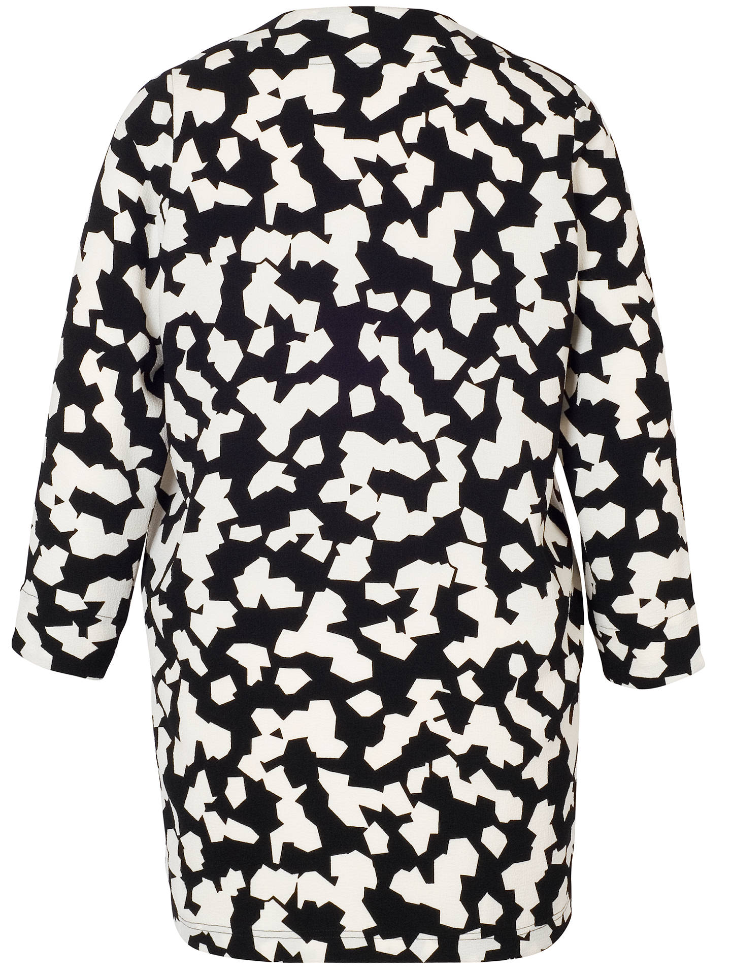 BuyChesca Jigsaw Coat, Black Ivory, 12-14 Online at johnlewis.com