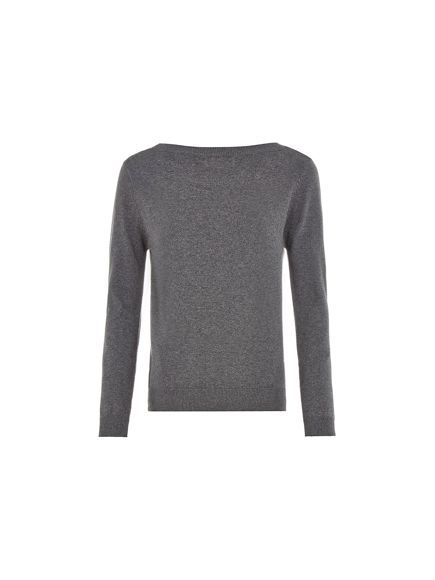 Buy Louche Bobbin Jumper, Grey Marl, 12 Online at johnlewis.com