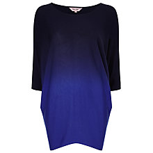 Buy Phase Eight Dip Dye Becca Batwing Jumper, Cobalt Online at johnlewis.com